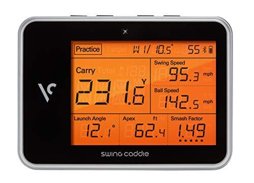 3) Voice Caddie Swing Caddie SC300 Portable Golf Launch Monitor