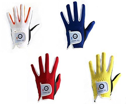 best golf gloves for kids FINGER TEN Junior Kids Golf Gloves