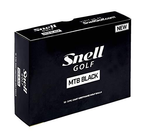 Snell MTB Black Golf Balls