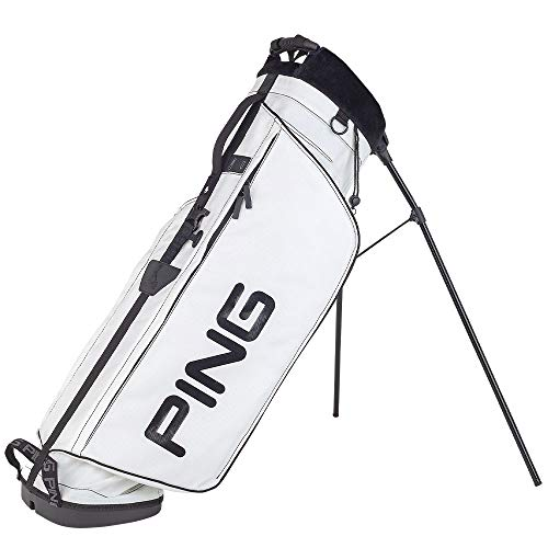 PING L8 Single Strap Stand Golf Bag White Color