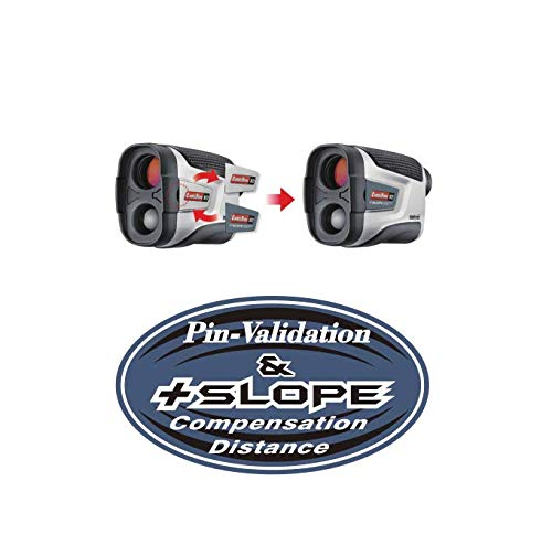 Caddytek Golf Laser Rangefinder with Slope and Pin-Validation Function