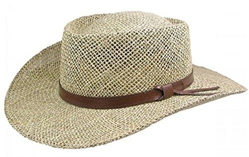 Stetson Gambler Seagrass Outdoorsman Hat