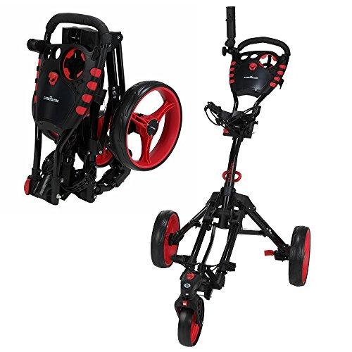Caddymatic Golf 360° SwivelEase 3 Wheel Folding Golf Cart