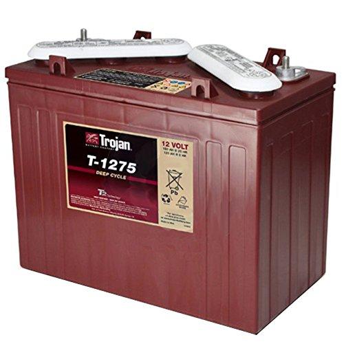 Trojan T-1275 12V 150Ah Flooded Lead Acid Golf Cart Battery
