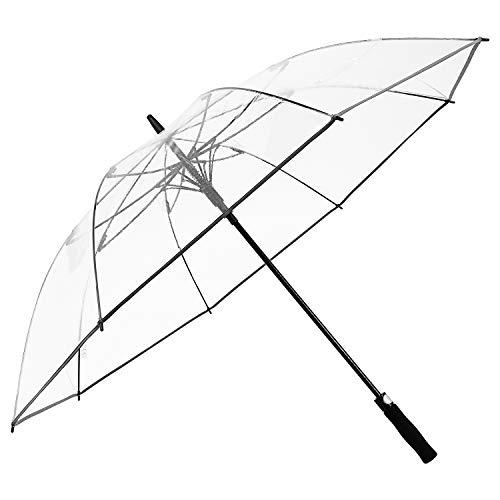 G4Free 62 Inch Clear Golf Umbrella