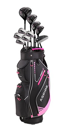 Aspire PRO-X Ladies Womens Complete Right Handed Golf Clubs Set