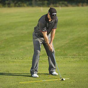 T-setup drill with golf alignment sticks - AEC Info