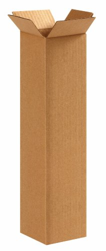 Aviditi 4416 Tall Corrugated Cardboard Box