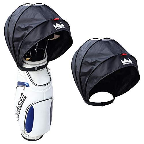 Craftsman Golf Black Waterproof and Dustproof Golf Bag Rain Hood