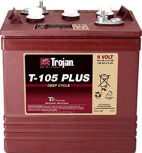 Trojan T-105 Plus 6 Volt Battery Pack