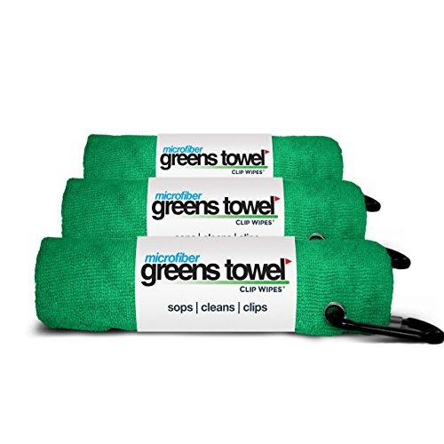 Microfiber Greens Towel