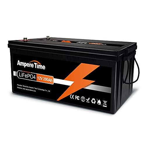 Ampere 12V 200Ah Lithium Iron LiFePO4 Deep Cycle Battery