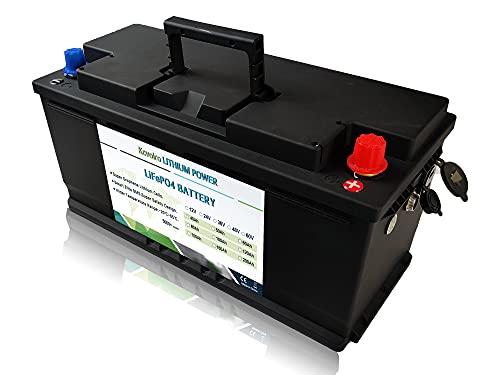Kcvolro LifePo4 Battery 12v 100Ah