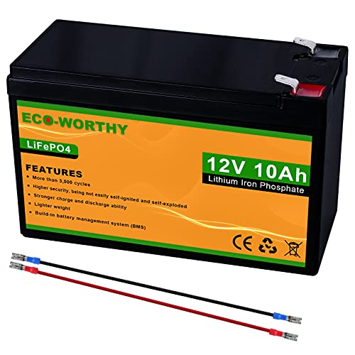 ECO-WORTHY 12V 150Ah LiFePO4 Lithium Iron Phosphate Battery