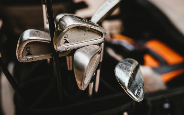 Sell your old golf clubs