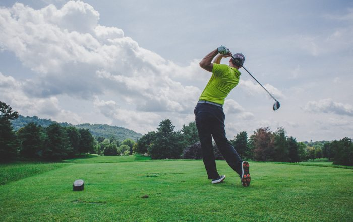 How to fix an over the top golf swing