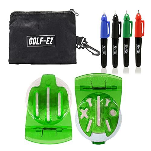 Golf-EZ TRI-LINE Golf Ball Alignment Kit